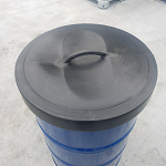 New hard plastic drum cover